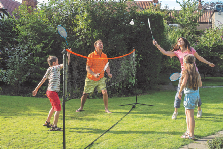 Badminton Volley Ball Tennis Net 5m